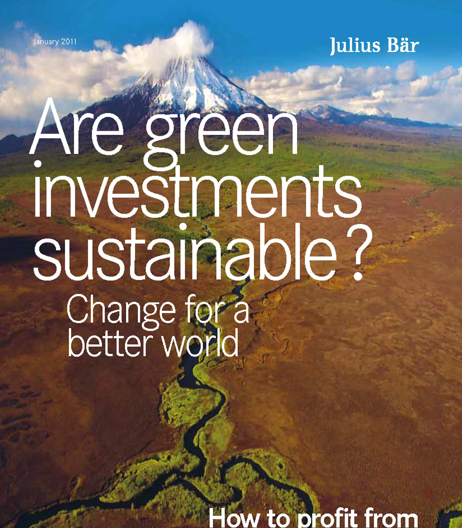 Bank Julius Bär & Co. Ltd. - Investment Magazine 2011